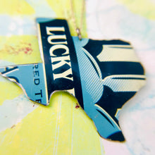 Load image into Gallery viewer, Lucky Texas Recycled Tin Necklace