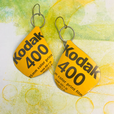 Kodak Film Big Teardrop Earrings