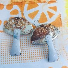 Load image into Gallery viewer, Groovy Mushrooms Zero Waste Tin Earrings