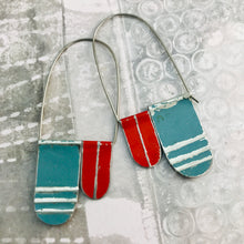 Load image into Gallery viewer, Slate & Scarlet Arch Dangle Tin Earrings