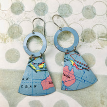 Load image into Gallery viewer, Australia Small Fans Zero Waste Tin Earrings