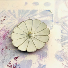 Load image into Gallery viewer, Flower Blossom Upcycled Tin Brooch