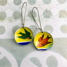 Load image into Gallery viewer, Tiny Birds Medium Basin Earrings