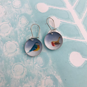 Sweet Songbirds Upcycled Tiny Dot Earrings