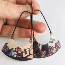 Load image into Gallery viewer, Disney's Seven Dwarves Recycled Tin Earrings