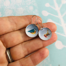 Load image into Gallery viewer, Sweet Songbirds Upcycled Tiny Dot Earrings