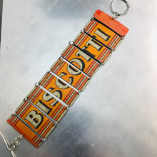 Load image into Gallery viewer, Vintage Biscotti Upcycled Tin Bracelet