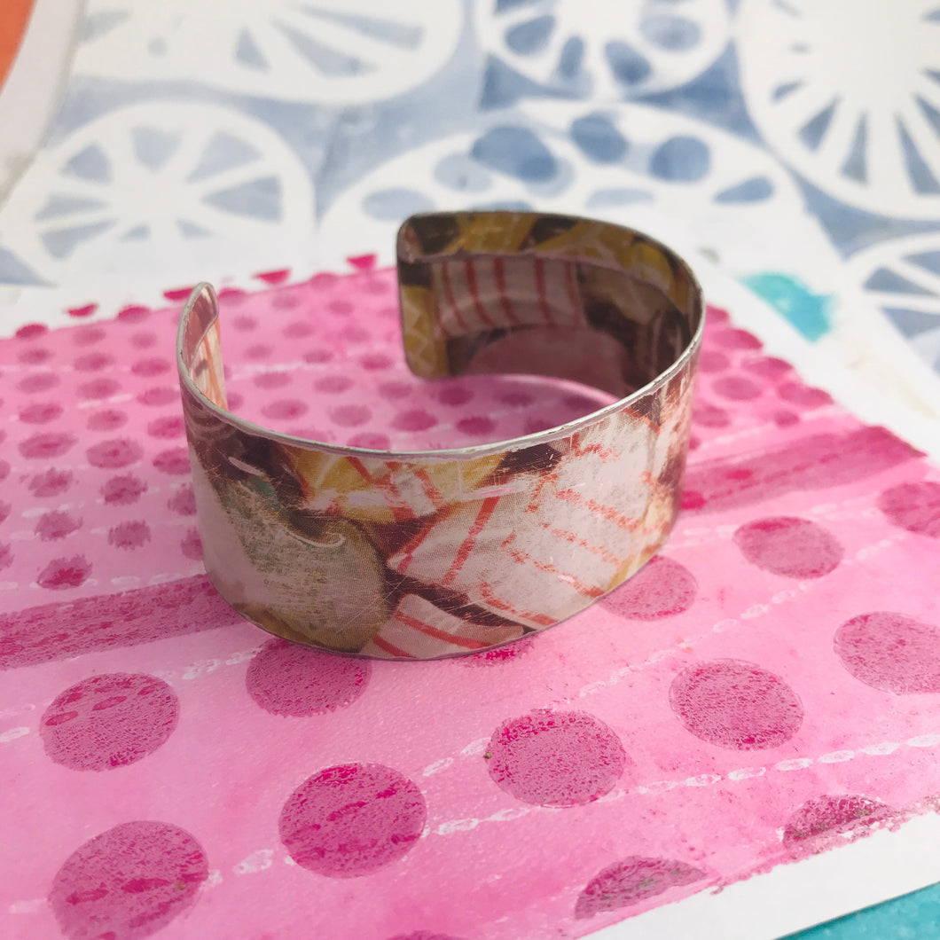 Grandma Hard Candy Upcycled Tin Cuff