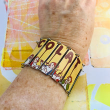 Load image into Gallery viewer, Chocolat Upcycled Tin Bracelet
