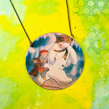 Load image into Gallery viewer, Frosty & Pal Zero Waste Tin Necklace
