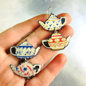 Little Teapots Zero Waste Tin Earrings