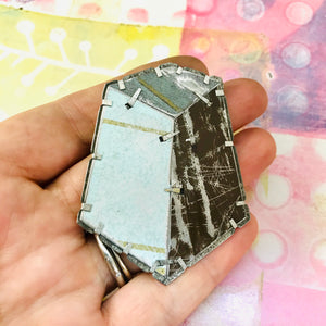 Edifice 5 Upcycled Tin Brooch/Necklace