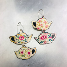 Load image into Gallery viewer, Little Teapots Zero Waste Tin Earrings
