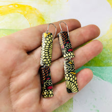 Load image into Gallery viewer, Mixed Voluspa Pattern Recycled Tin Earrings