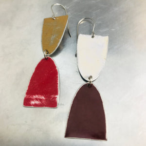 Mod Matte Arches Zero Waste Tin Earrings