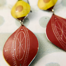Load image into Gallery viewer, Mustard & Madder Rex Ray Zero Waste Tin Earrings