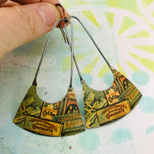 Load image into Gallery viewer, Hershey's Chocolate Bars Recycled Tin Earrings