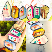 Load image into Gallery viewer, Crazy Cakes Upcycled Tin Bracelet