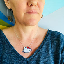 Load image into Gallery viewer, Hello Kitty Zero Waste Tin Necklace