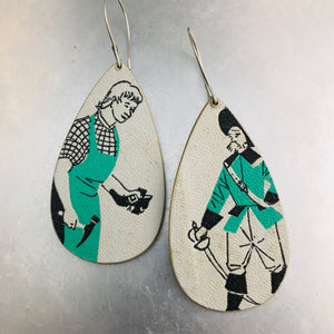 Ex Libris Upcycled Book Jewelry from vintage childrens books