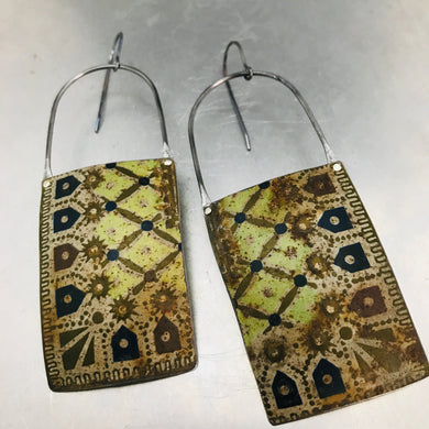 Vintage Treasure Box Corner Tin Zero Waste Earrings