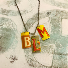 Load image into Gallery viewer, #BLM Upcycled Tin Necklace Ethical Fashion