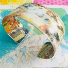 Load image into Gallery viewer, Peaches Package Upcycled Tin Cuff