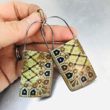 Load image into Gallery viewer, Vintage Treasure Box Corner Tin Zero Waste Earrings