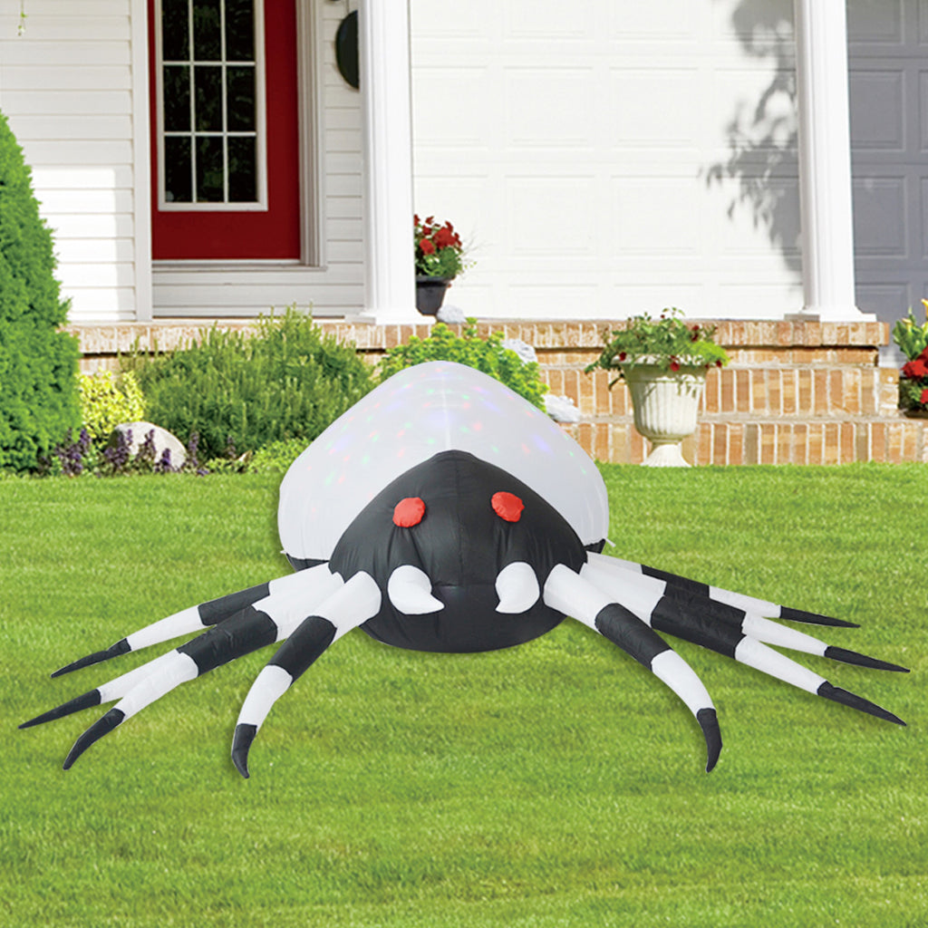5FT Inflatable Halloween Skeleton Dog Blow Up Inflatables Halloween Outdoor Yard Decoration