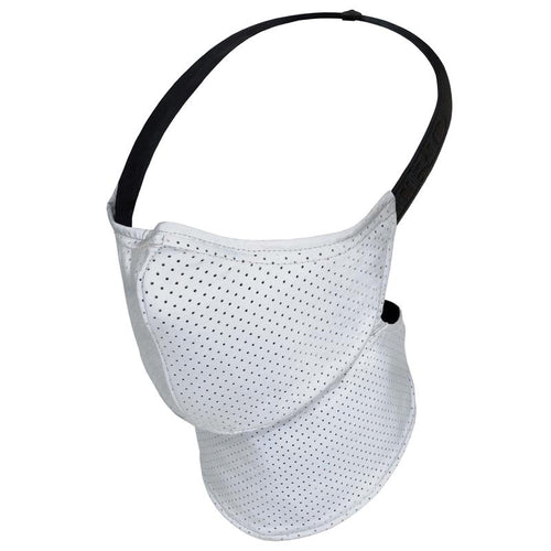 Maska Rare Bird London  - Silver Mesh Face Mask - 'Night Versions Collection'