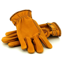 Load image into Gallery viewer, KYTONE LEATHER CE GLOVES - CAMEL / Żółte