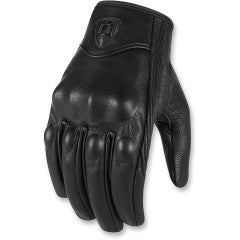ICON GLOVE PURSUIT CE BLACK
