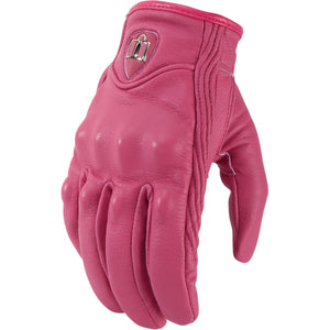 ICON Gloves Pursuit Pink Women`s