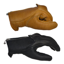 Load image into Gallery viewer, Goldtop - The Silk Lined Raptor Gloves - Black