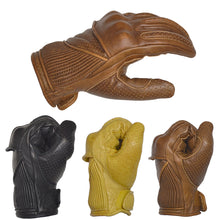 Load image into Gallery viewer, GOLDTOP - The Silk Lined Viceroy Gloves - Black