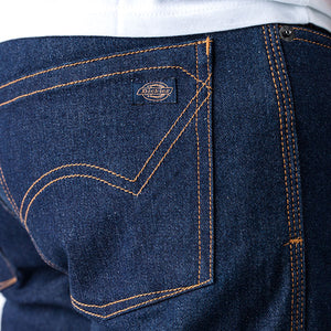 DICKIES MOTORCYCLE OUTFITTERS - SALT FLATS - Indigo Rinse Wash