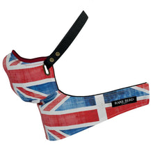 Load image into Gallery viewer, Maska Rare Bird London  - Abstract Union Jack Face Mask