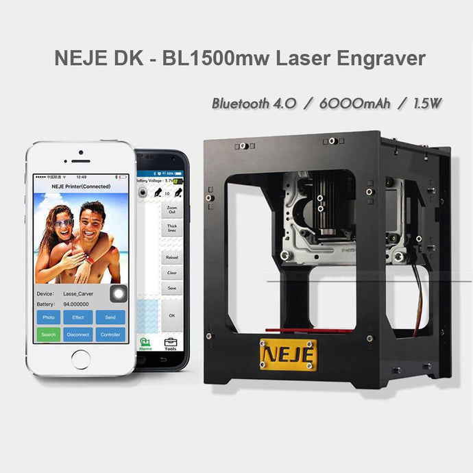 NEJE DK - BL1500mw Laser Engraver Machine  impresora 3d Printer Support Pc Andriod IOS Smart Phone 550 x 550 high pixe