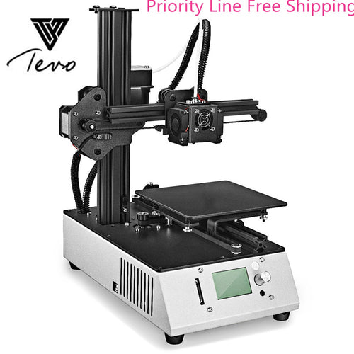 2018 TEVO Michelangelo Portable Complete 3D Printer 15 x 15 x 15cm Aluminum Plate high-performance Priority Line