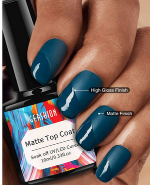 What is top coat nail polish used for?