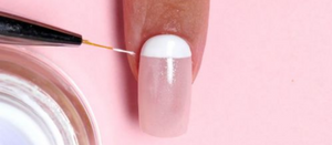 If you're a minimalist, you'll adore this stylish matte manicure.