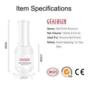 Gershion Magic Nail Polish Remover Easy to Use & No Harming to Nails