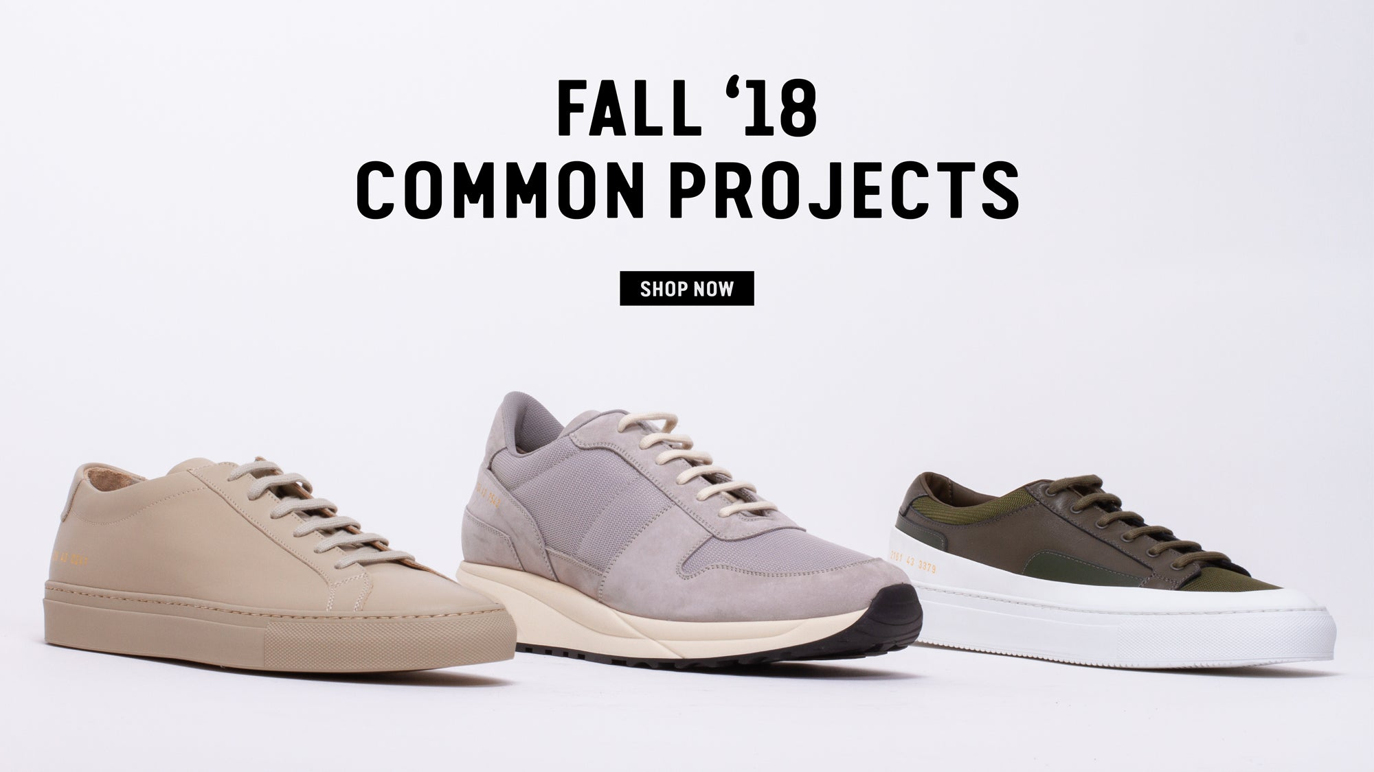 Fall '18 Common Projects