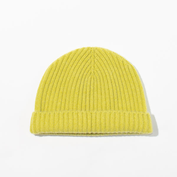Cashmere Knit Hat - Punch
