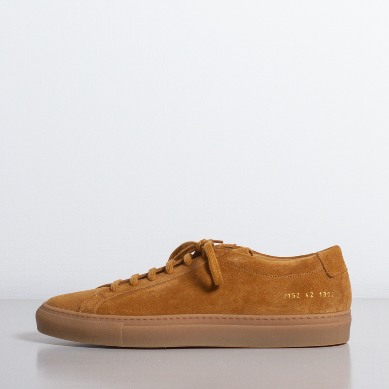 Common Projects - Achilles Low Suede - Tan