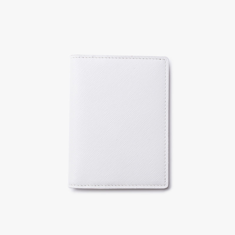 Common Projects - Card Holder Wallet - White Leather