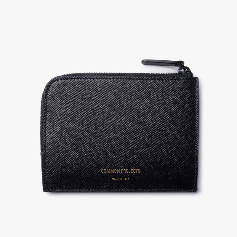 Common Projects - Zipper Wallet - Black Leather