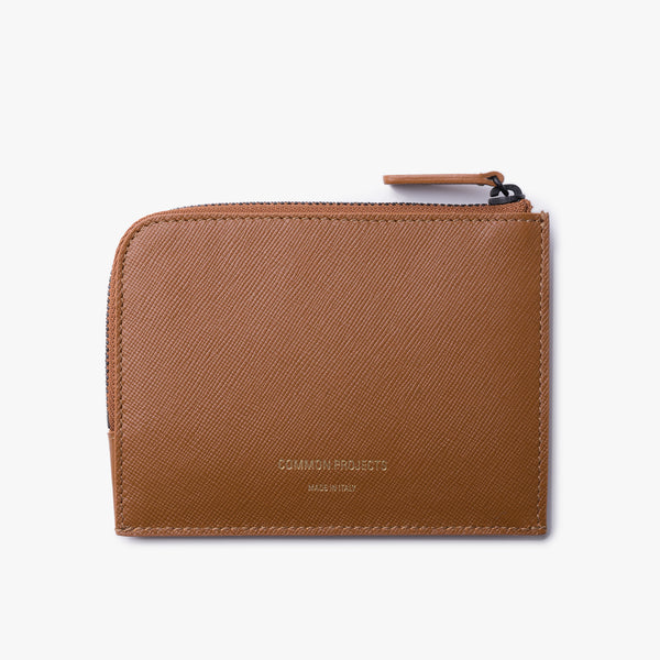 Common Projects - Zipper Wallet - Brown Leather