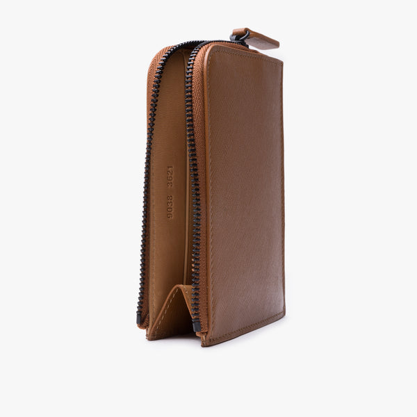 Zipper Wallet - Brown