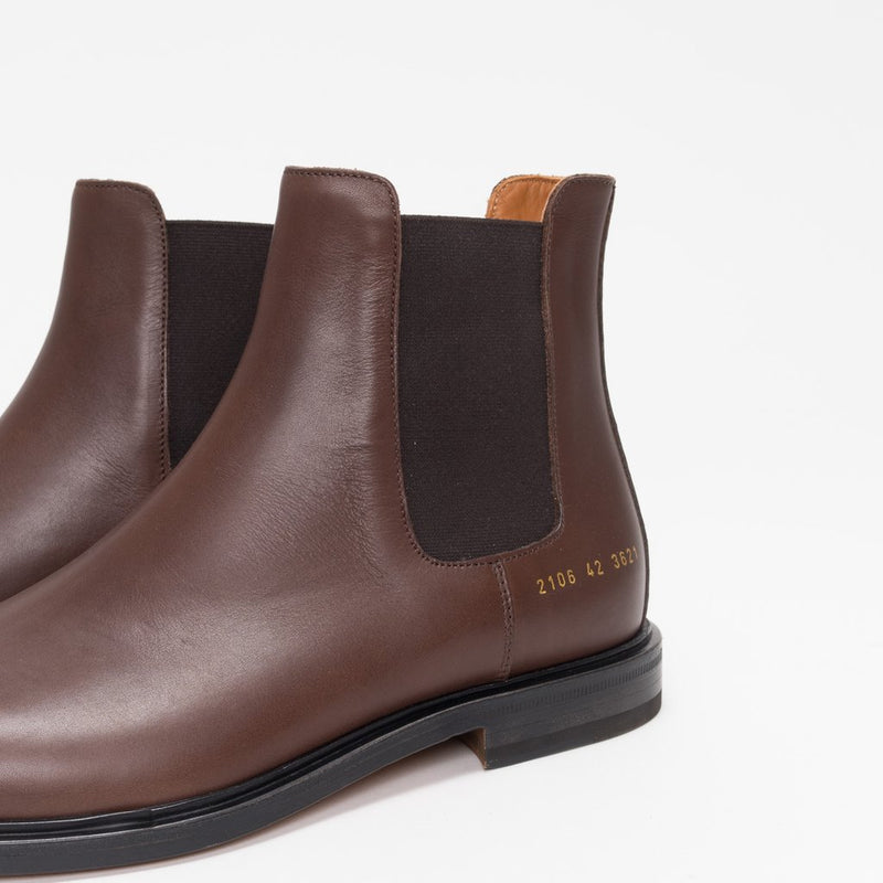 Common Projects - Chelsea Boot - Brown Leather